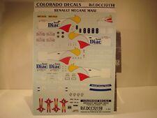 DECALS 1/32  RENAULT MEGANE MAXI - #8 - TOUR DE CORSE 1996 - COLORADO  32138