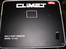Climet Ci-310 Multi Port Sampler 120 Volt 60 Hz 2 Amp Serial Number 883067 (Tw)