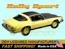 1975 1976 1977 Chevrolet Camaro Rally Sport RS Decals & Stripes Kit
