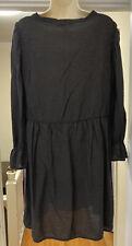 Anthropologie Lacausa Womens Large Black Parkington Dress L