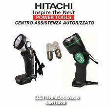 DUE LAMPADINE DI RICAMBIO PER TORCIA HITACHI DA 9,6 A 12 VOLT