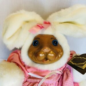 Robert Raikes Easter 1992 Paulette Rabbit Bunny Tag COA Box Limited Edition