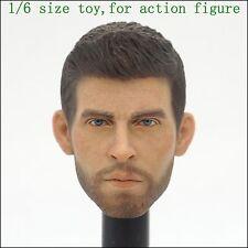 L34-17 1/6 scale ZCWO FCBarcelona Pique head sculpture