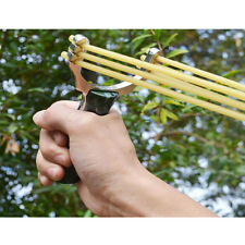 Powerful Folding Wrist Sling Shot Slingshot High Velocity Brace Hunting Catapult