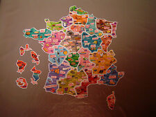 "Magnets Le Gaulois Départ'aimants ""Nouvelle collection"" Carte Complète lot de 94"