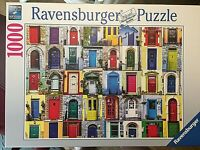 Ravensburger Jigsaw Puzzle Doors Of The World 1000 Pieces Made In Germany MINT