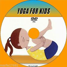 YOGA FOR KIDS DVD KEEP YOUR CHILDREN FIT AND HEALTHY WITH THIS FUN TUTORIAL NEW