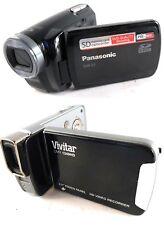 Panasonic SDR-S7P Flash Memory Camcorder & Vivitar DVR1240HD Full HD1080 Digital