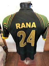 Mens Medium Cricket Jersey Pakistan #24 Rana Icc World Twenty20 Bangladesh 2014