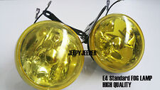 "E4 DLAA Yellow White Rainbow Universal Fog Light Lamp H3 12V 55W Fish Eye 4"""