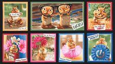 "1 Robert Kaufman ""Chip Chip Hooray"" Chipmunks Fabric Panel 23 1/2 "" x 44"""