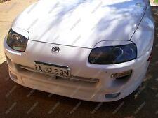 Unpainted Headlight Eyelids Eyebrows for 1993-1998 Toyota Supra JZA80 MK4