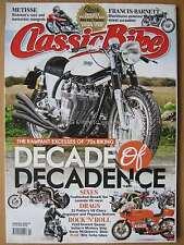 Classic Bike February 2016 Norton Benelli Laverda V6 Rickman Harley Godzilla 70s