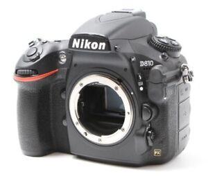 Nikon D810 36.3 MP Full Frame Digital SLR Camera Body w/ Charger