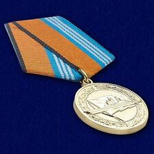 """Russian AWARD military BADGE pin insignia """"For service in naval surface forces"""""""