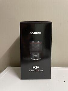 Brand new Canon RF 15-35mm f2.8 lens
