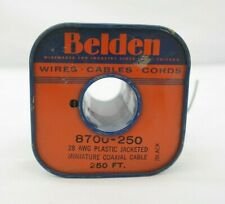 Vintage Belden 8700 Miniature Coaxial Audio Cable 250 FT (USED) T5