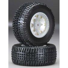 Team Associated 1/10 SC10B RS 91105 KMC Hex Wheel/Tire Silver (2)