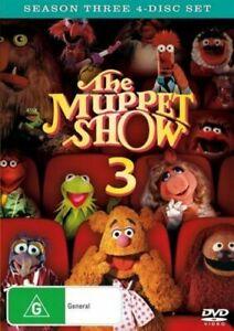 The Muppet Show: Season 3 (DVD, 4 Discs)   Region 4 - Very Good Condition