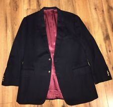 100 % Pure Vicuna Black Sport Jacket 41 Nelson David -King Quality Hand Tailored
