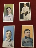 Four Vintage Baseball Tobacco Cards