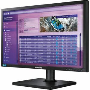"""Samsung 24"""" S24E650DW Business Slim Monitor LED LCD Tilt Swivel Pivot Adjustable"""