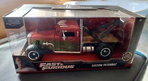 Hobb's & Shaw Custom Peterbilt truck from Fast & Furious series 1:24 JADA