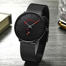 Men's Watch Relojes De Hombre Minimalist Ultra Thin Watches Stainless Steel