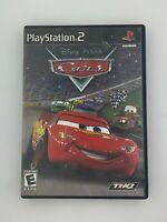 Disney Pixar Cars - Playstation 2 PS2 Game - Complete & Tested