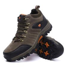 Мужская водонепроницаемая легкая кожаная зимняя уличный тактический походные ботинки туфли