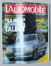 L AUTOMOBILE MAGAZINE - N° 425 - NOVEMBRE 1981 *