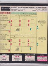 PANINI WM 1974 MÜNCHEN 74 - Leeres Stickeralbum + kompletter Satz Original in Ka