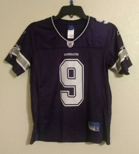 Tony Romo #9 Dallas Cowboys NFL Women's Reebok Sewn Football Jersey Size Small