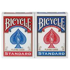 NEW Sealed Package RED or BLUE Deck of BICYCLE Standard Face Poker Playing Cards