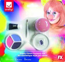 Pretty Clown Cosmetic Kit Ladies Circus Clown Fancy Dress Make Up Set