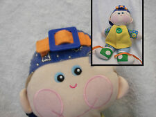 Learn to Dress Doll  Dapper Dan  5 Hands On Activities Plush Hasbro Playskool