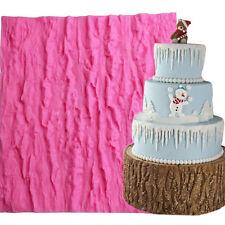 3d Bark Pattern Silikon Matte Spitze Lace Mold Fondant Torten Dekoration Cake OG