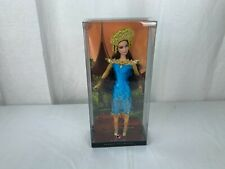NEW 2007 Sumatra Indonesia Dolls of the World Barbie collector Pink Label