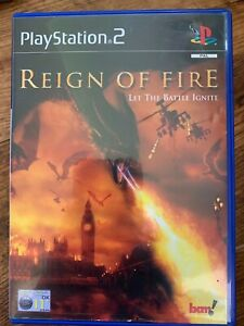 Reign of Fire PS2 Game based on Dragon Movie Videogame