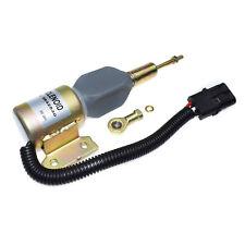 Diesel Engine Shut Off Solenoid 3932530 SA475624 for Cummins 5.9L 6BT Excavator