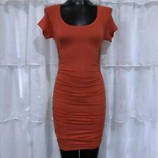 XS - NWOT SPLENDID Ruched Tencel Bodycon Dress