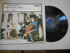 LP Klassik Suk Trio - Beethoven Archduke Trio (4 Song) DENON JAPAN