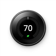 Google Nest Learning Thermostat 3rd Generation, Black