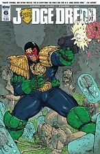 Judge Dredd Ongoing #6 Subscription Comic Book 2016 - IDW
