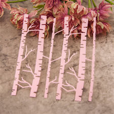Birch Trees Metal Cutting Dies Stencil Scrapbooking Cards Paper Emboss Craft&g