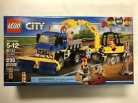 LEGO City Sweeper and Excavator - 60152 - New Sealed