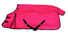 Horse Blanket Turnout Rug 1200D Heavy Weight 400g Rip Stop Water Proof Pink 80