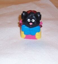MCDONALD'S BIRDIE BLACK CAT MASK COSTUME1998 HAUNTED HALLOWEEN  # 2 IN SERIES