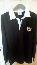 Mens classic Scotland Rugby shirt Front Row XL Blue
