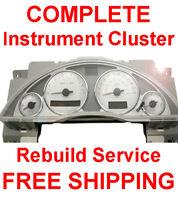 Buick Rendezvous Speedometer Instrument Cluster Dash Panel Gauge Cluster REPAIR